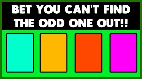 what year did the color tv come out can you find the one out iq test eye test