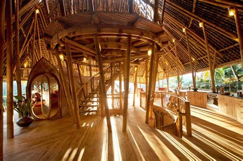 Ibuku Constructs Three Bamboo Homes in Bali's Gorgeous