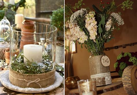 mariage toile de jute mariage wedding and decoration