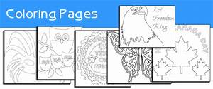 Printable Coloring Pages, Outlines, Digital Stamps