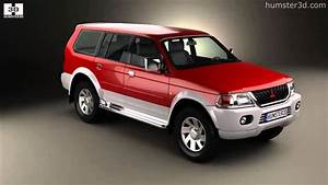 Mitsubishi Pajero Sport 1996 By 3d Model Store Humster3d
