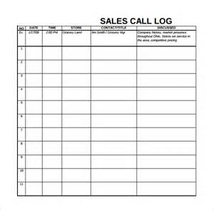 Excel Daily Planner Template Sales Log Template 6 Free Documents In Pdf Excel