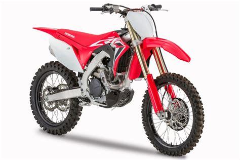 Honda Mx 2020 by Motocross Honda Crf250r Et Crf450r 2020