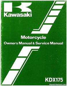 1980  U2013 1982 Kawasaki Kdx175 A Motorcycle Repair And