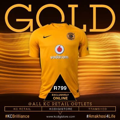 Buy The Iconic New Jersey From Today  Kaizer Chiefs