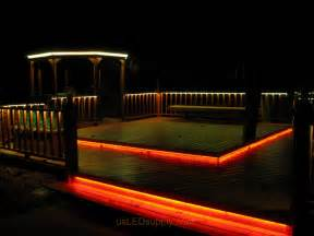 ideas for deck lighting led deck lighting