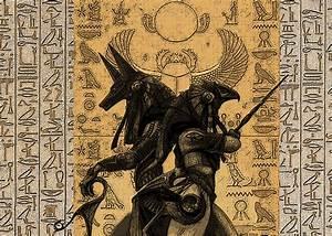 Anubis and Osiris by Dandelum | Anubis | Pinterest ...