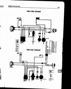 Wiring Diagram Help Needed For An Xr500r