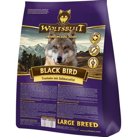 wolfsblut black bird large breed hundefutter von wolfsblut