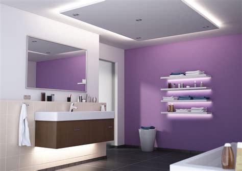 Ledbeleuchtung Im Bad Wellness Im Badezimmer Mit Led
