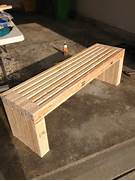 Make Outdoor Wood Table by 25 Best Ideas About Wood Bench Plans On Pinterest Bench Plans Benches And