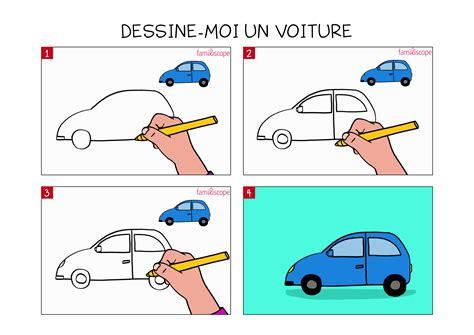 apprendre  dessiner une voiture en  etapes