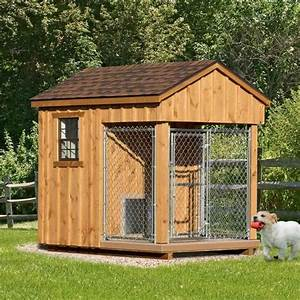 6 x 8 ft amish made dog kennel amish dog kennels With pinecraft dog kennels