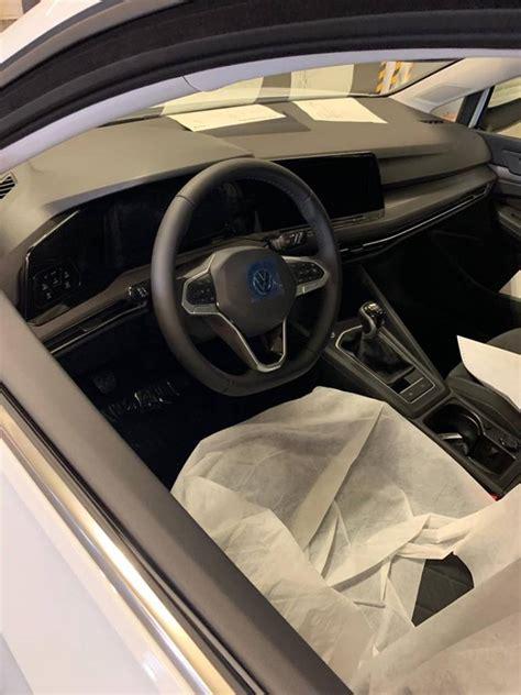 volkswagen golf  leaked  full interior sets