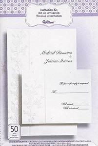 wilton 50 count invitation kit cherry blossum 1010 119 With wilton lavender wedding invitations