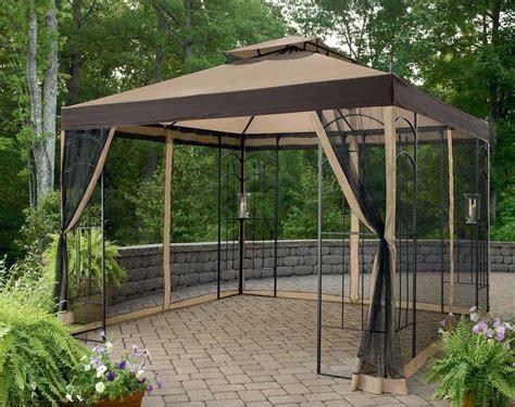 mosquito net gazebo insider gazebo with mosquito netting assembly