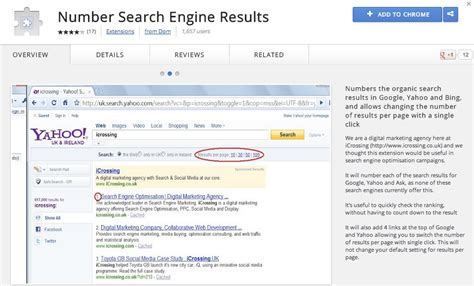 Seo Search Results - anywhere i chrome handy browser extensions for seo