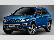 2017 Jeep Compass unveiled, to rival the BMW X1, Audi Q3