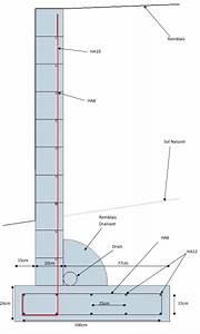 Ferraillage Fondation Mur De Cloture : mur de sout nement encore un ~ Dailycaller-alerts.com Idées de Décoration