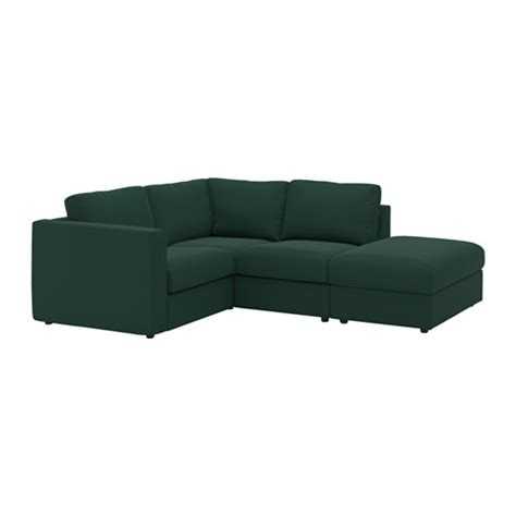 housse canapé d angle ikea vimle sectional 3 seat corner with open end gunnared