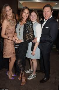 Yasmin Le Bon joined by husband Simon and daughters at Red