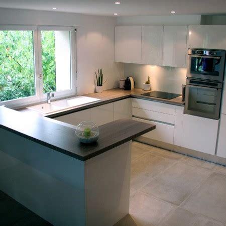 exemple de cuisine en u conseils aménagement de votre cuisine sur mesure orléans