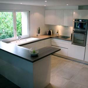 conseils amenagement de votre cuisine sur mesure orleans With idee deco cuisine avec cuisine Équipée u