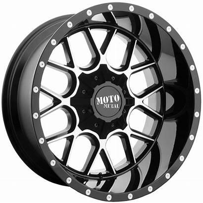 Mo986 20x9 Gloss Moto Metal Tyre 6x139