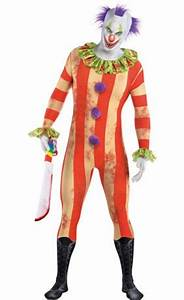 Adult Circus Psycho Clown Costume - Party City