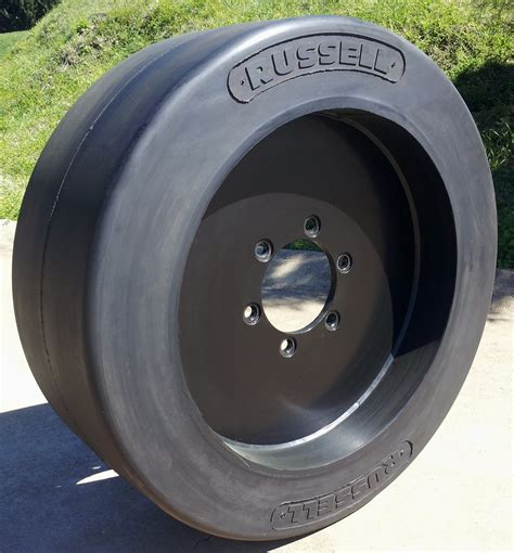 solid rubber wheels big tyre