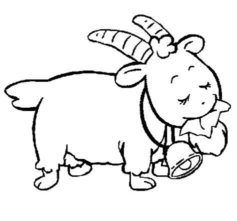 desenho de cabra   colorir