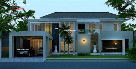 desain rumah hook  lantai