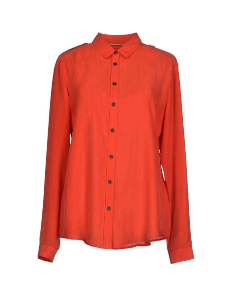 burberry blouse burberry brit shirt in lyst