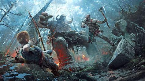 god  war art prints showcase  games incredible beauty