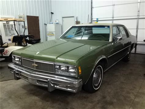 1979 Chevrolet Impala For Sale Carsforsalecom