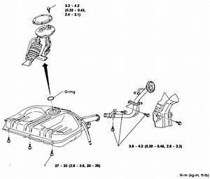 1992 Nissan Gas Tank Diagram