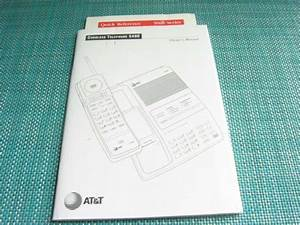 Vtg At U0026t 5490 Owners Manual User Guide Cordless Telephone