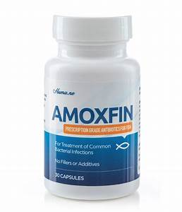 AmoxFin Fish Amoxicillin 500 mg (Prescription Grade ...