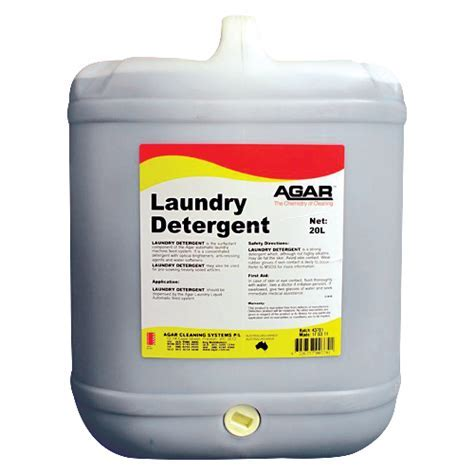 Laundry Detergent   Agar Cleaning Systems Pty Ltd