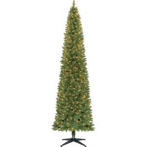 holiday time pre lit 9 brinkley christmas tree green clear lights walmart com