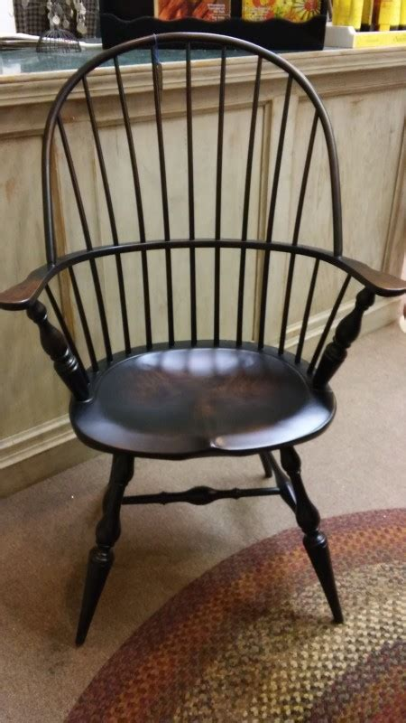 amish windsor side  arm chair colonial housecolonial