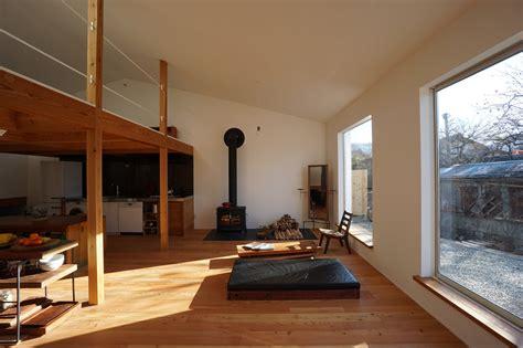 minimal house  japan   huge dormer