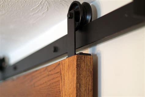 wall mount sliding door track home decor
