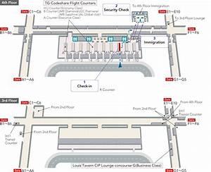 Bangkok  Suvarnabhumi  International Airport  Terminal Map