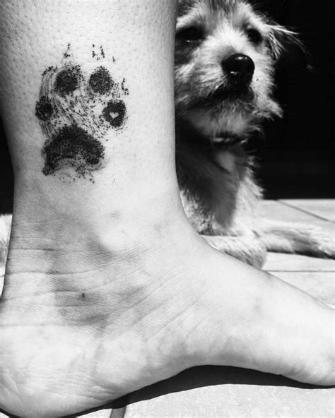 25 Dog Paw Tattoo Ideas to Showcase the Special Bond with Your Canine
