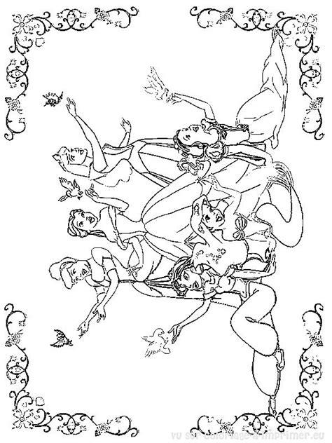 princesses disney coloriage 224 imprimer gratuit