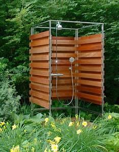 Sichtschutz Dusche Garten : outdoor dusche f r erfrischende momente im sommer ~ Indierocktalk.com Haus und Dekorationen