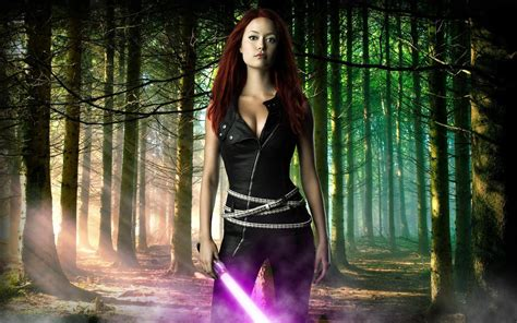 Star Wars  Mara Jade Wallpaper  4 November 2012 Blog