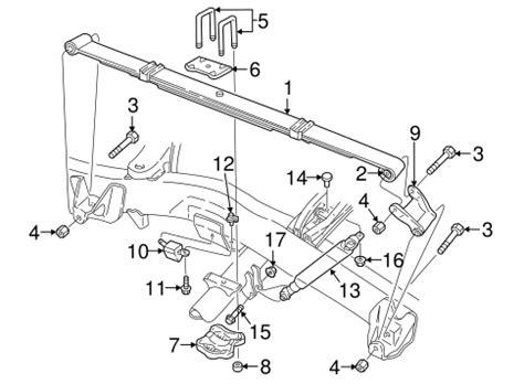 rear suspension for 2002 dodge dakota mymoparparts