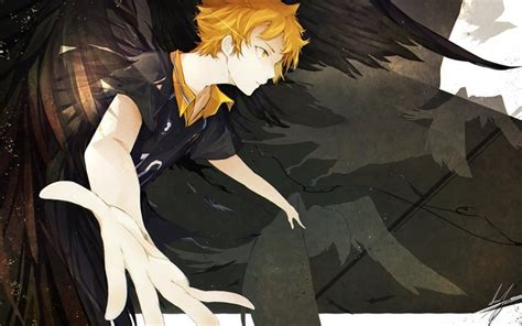 wallpapers shouyou hinata manga haikyuu